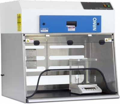 Ductless Nanoparticle Containment Enclosure (DNCE)